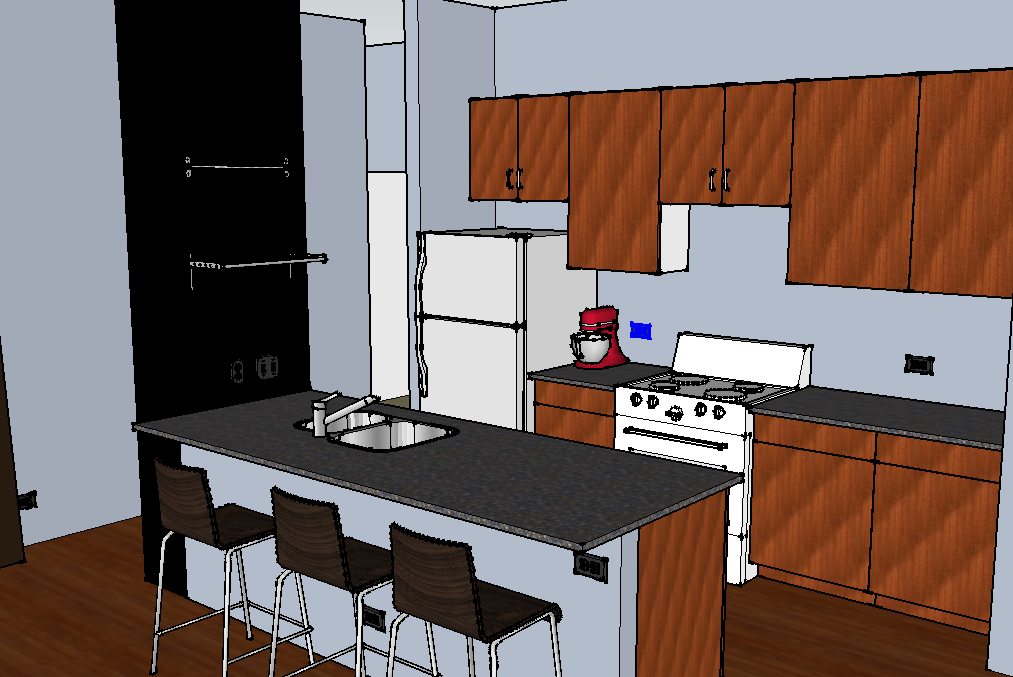 Sketchup Kitchen